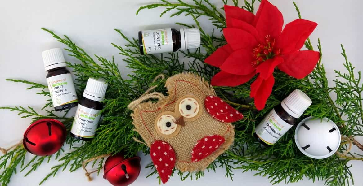 Ways to use Essential Oils at Christmas