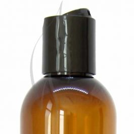 250ml Amber Pet Bottle with disc cap