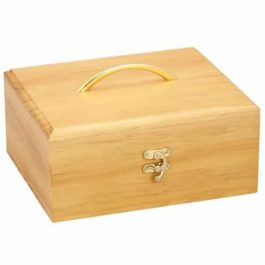Large Wood Essential Oil Box