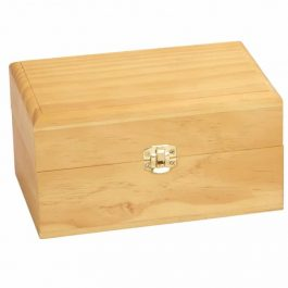 Small Wood Essential Oil Box