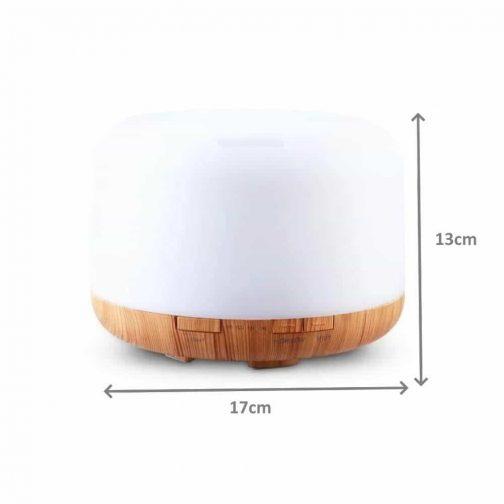 Ultrasonic Diffuser Light Wood Base 4